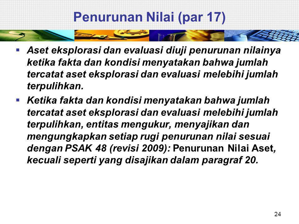 Penurunan Nilai (par 17)