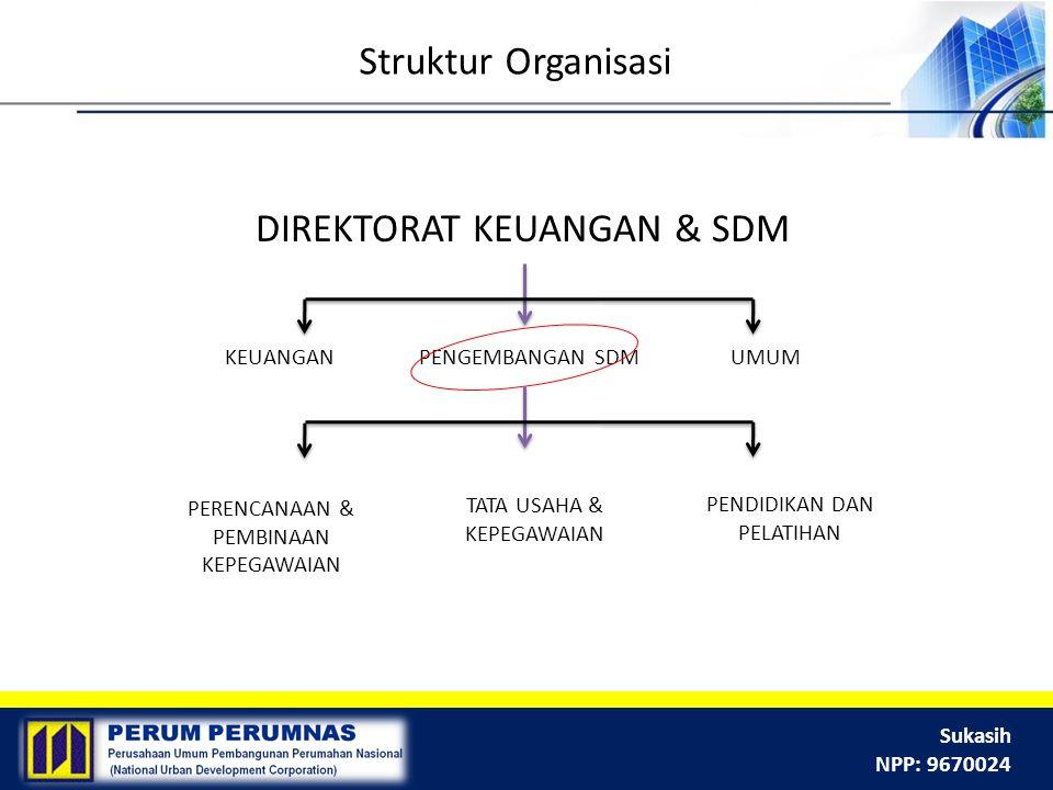 DIREKTORAT KEUANGAN & SDM