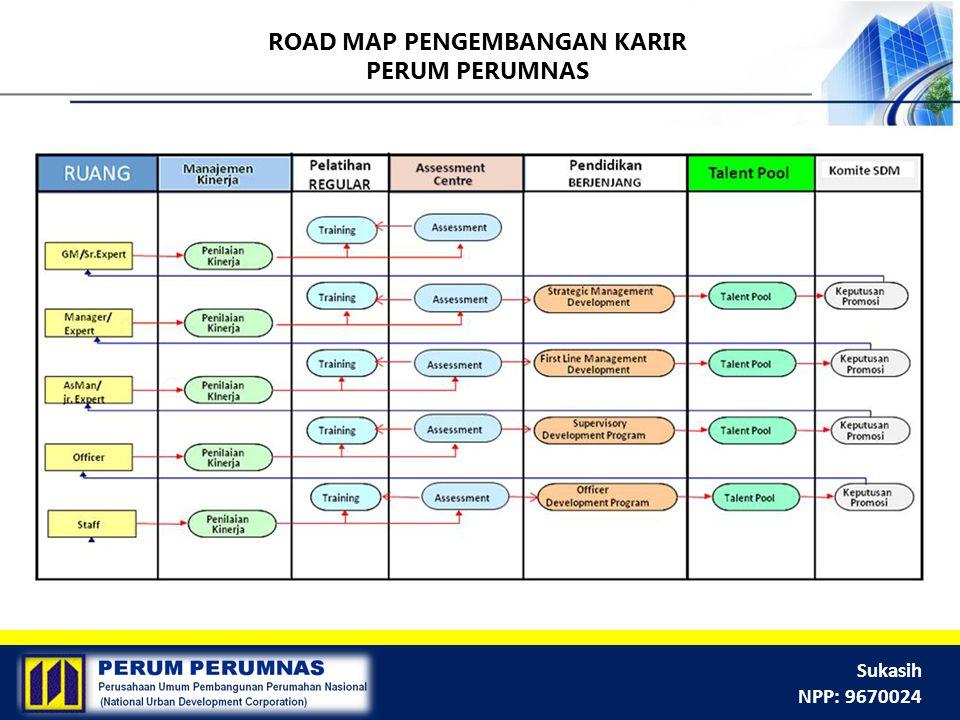 ROAD MAP PENGEMBANGAN KARIR PERUM PERUMNAS
