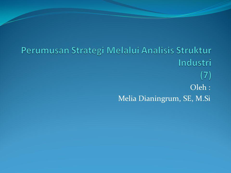 Perumusan Strategi Melalui Analisis Struktur Industri (7)