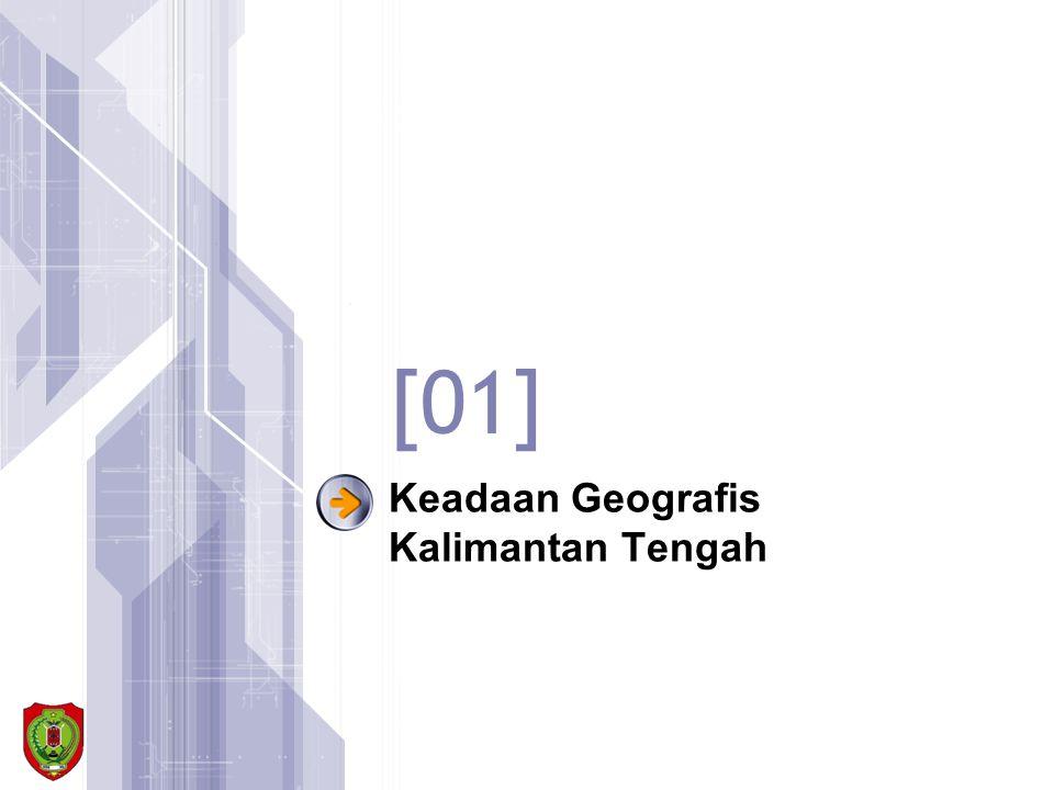 Keadaan Geografis Kalimantan Tengah