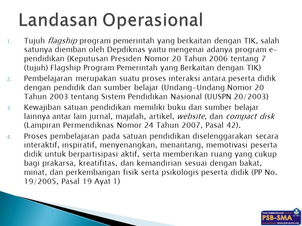 Landasan Operasional
