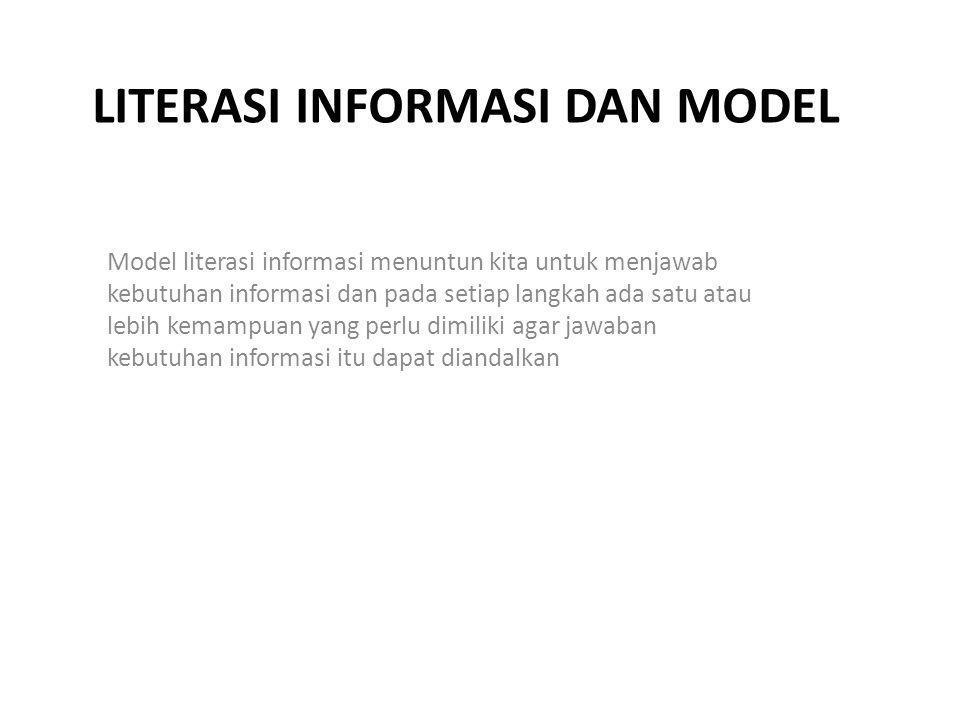 Literasi informasi dan model