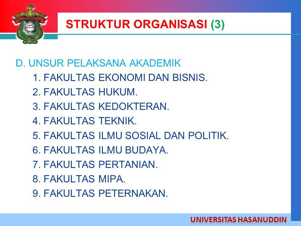 STRUKTUR ORGANISASI (3)