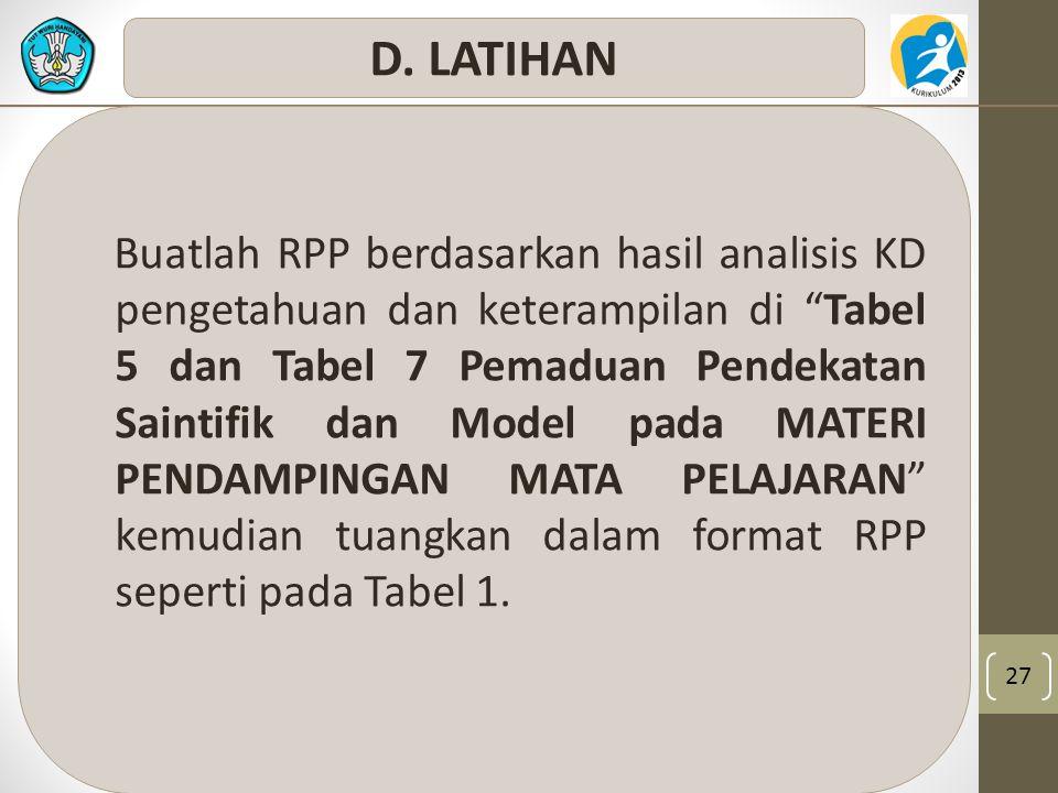 D. LATIHAN
