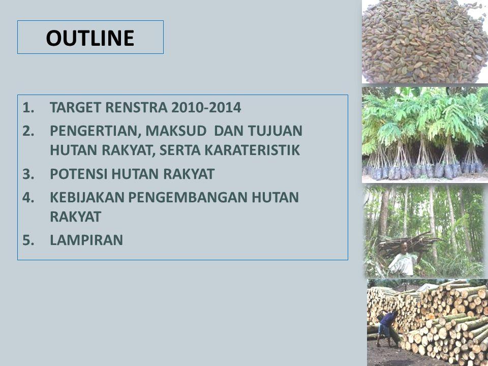 OUTLINE TARGET RENSTRA 2010-2014