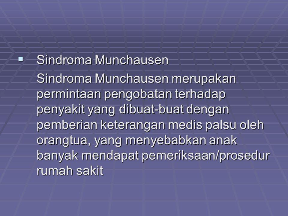 Sindroma Munchausen