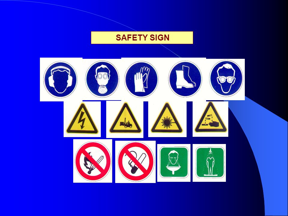 SAFETY SIGN Revisi /08/01