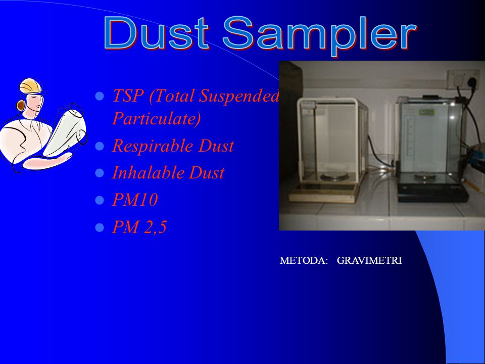 Dust Sampler TSP (Total Suspended Particulate) Respirable Dust