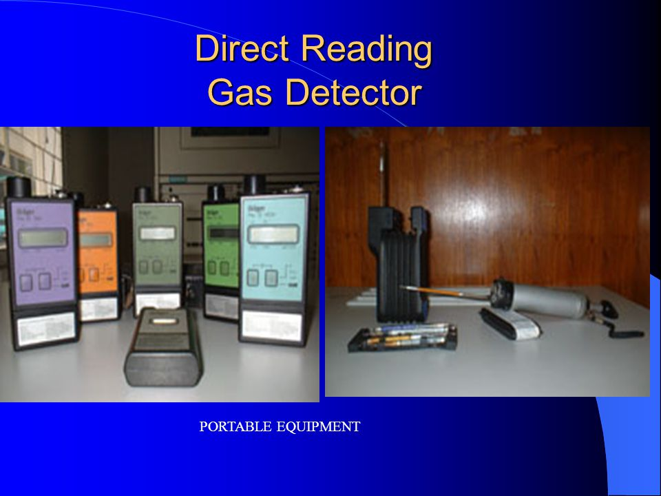 Direct Reading Gas Detector