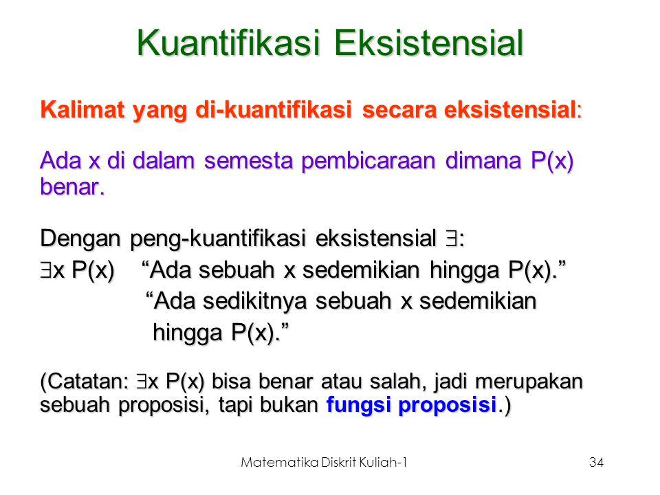 Kuantifikasi Eksistensial