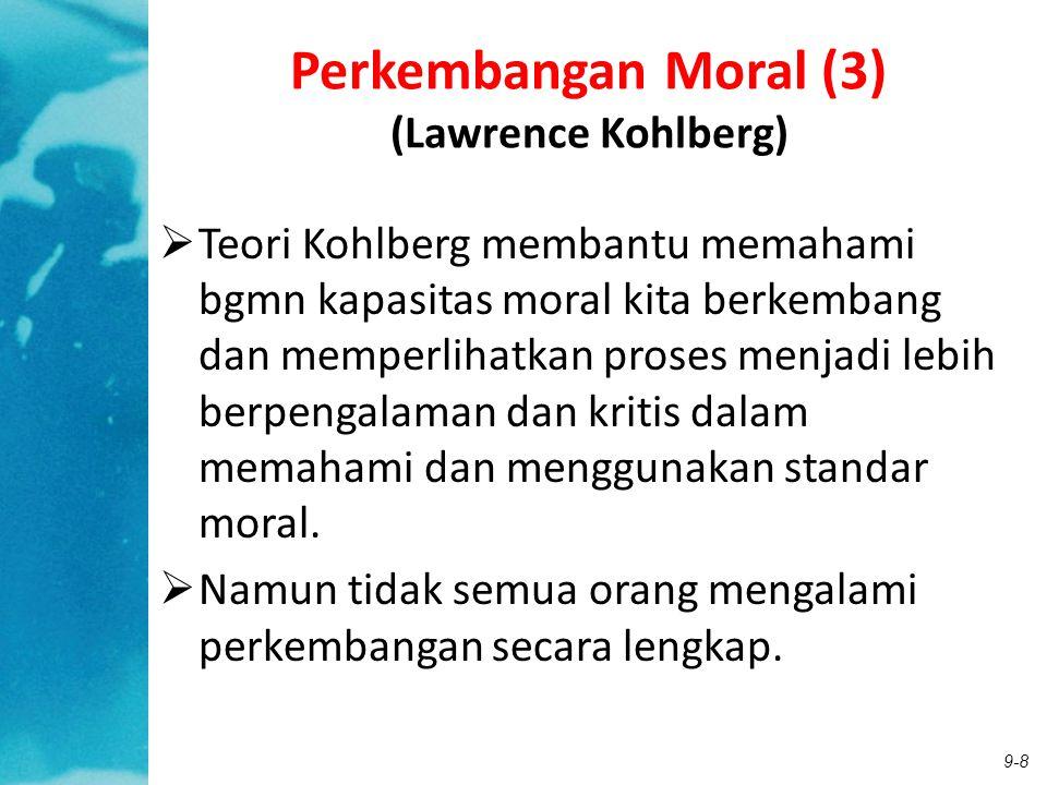 Perkembangan Moral (3) (Lawrence Kohlberg)