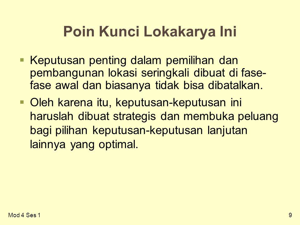 Poin Kunci Lokakarya Ini