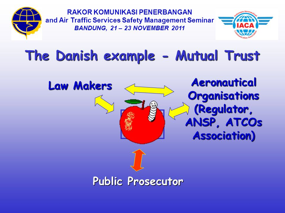 L The Danish example - Mutual Trust