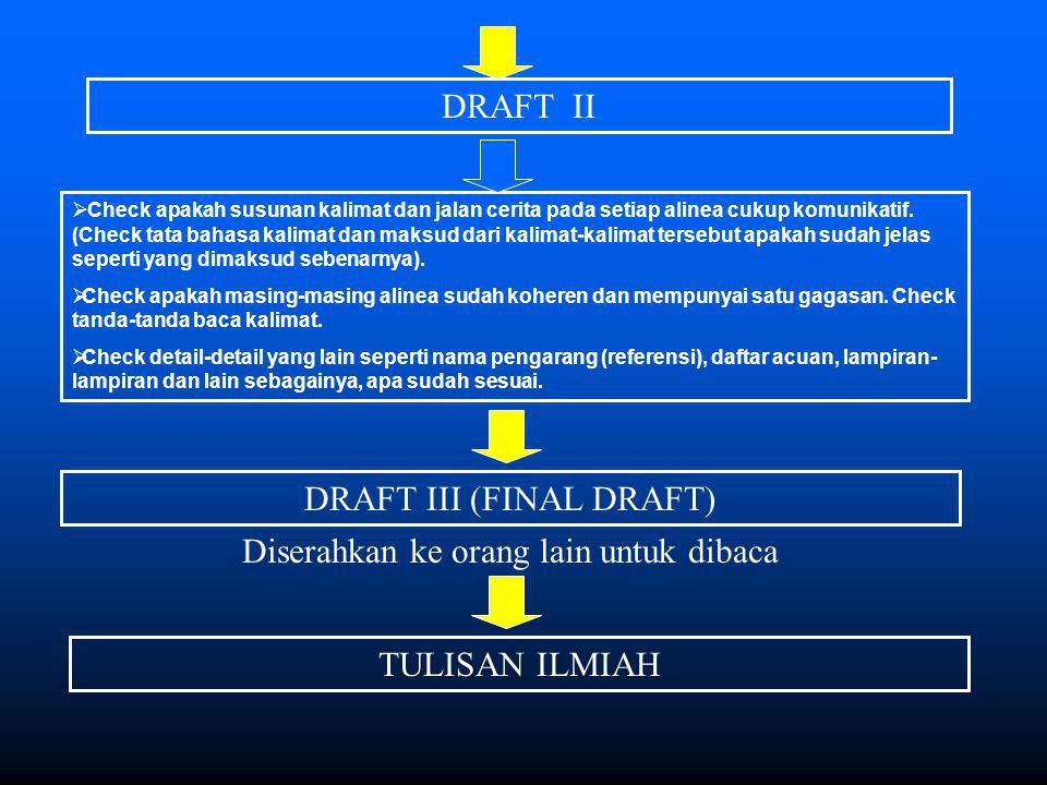 DRAFT III (FINAL DRAFT)