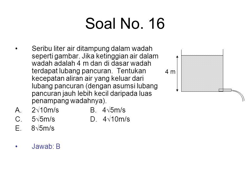 Soal No. 16