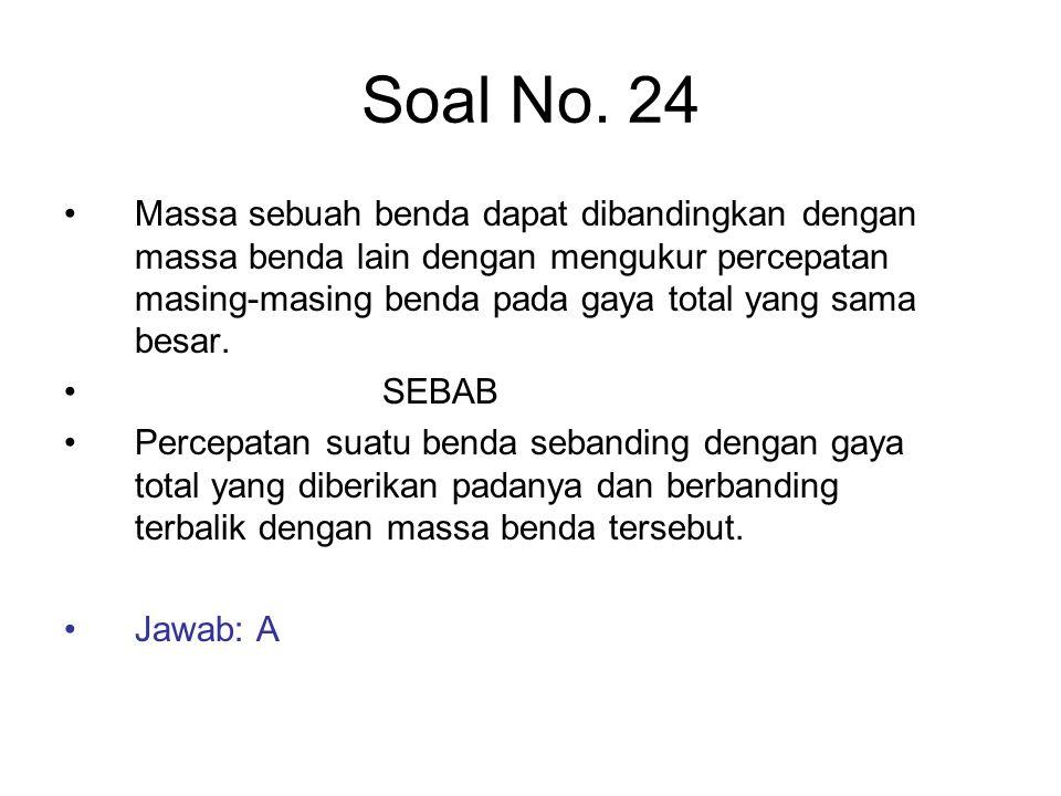 Soal No. 24