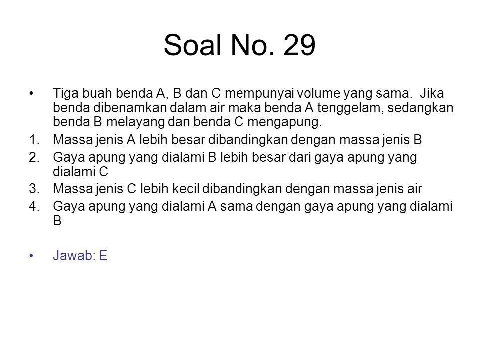Soal No. 29