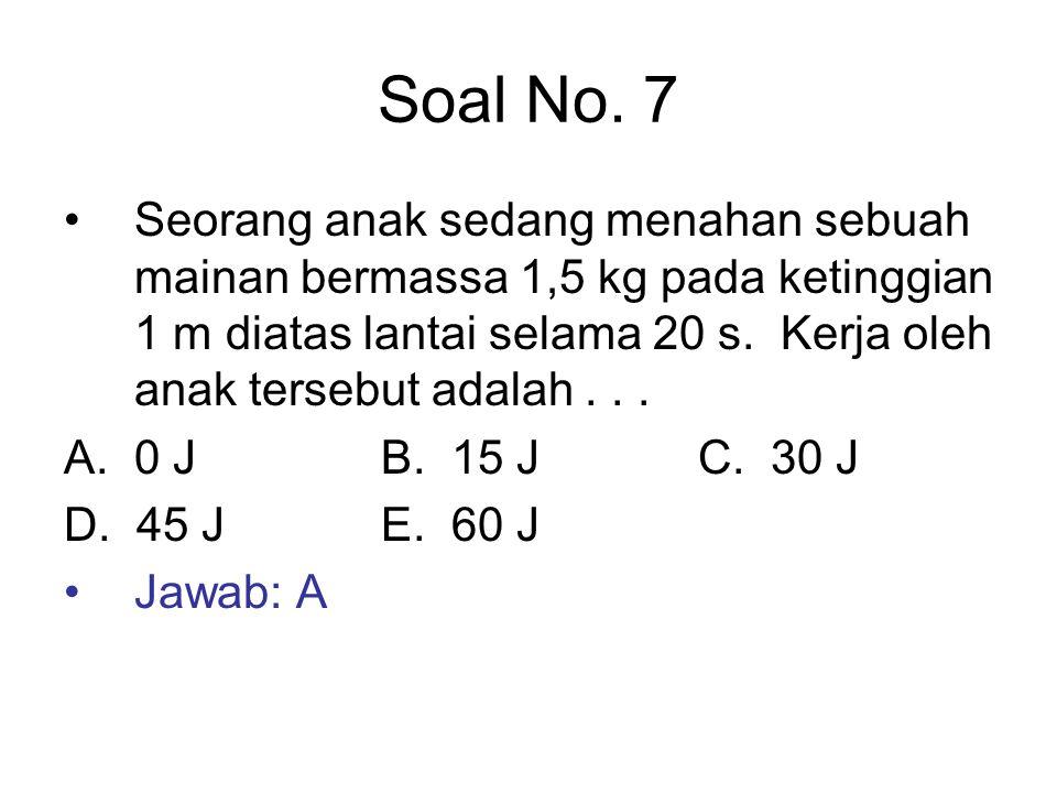 Soal No. 7