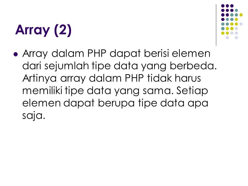 Array (2)