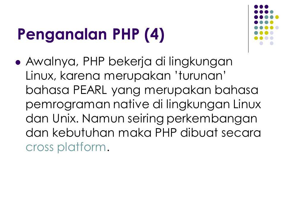 Penganalan PHP (4)