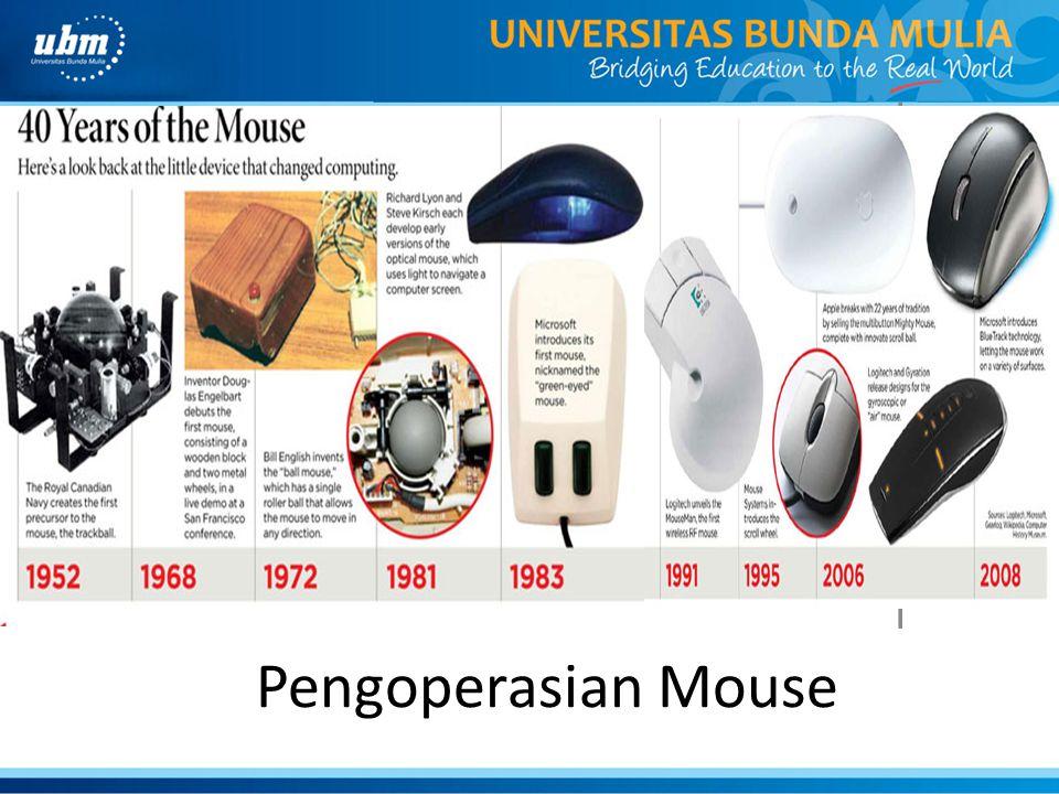 I N T E R A K S Pengoperasian Mouse