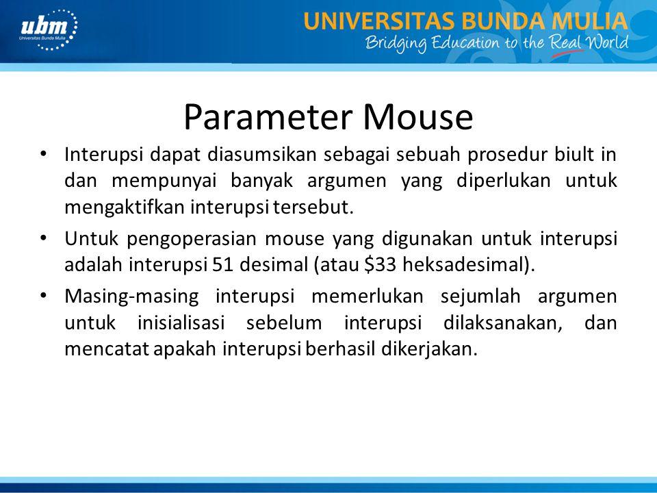 Parameter Mouse
