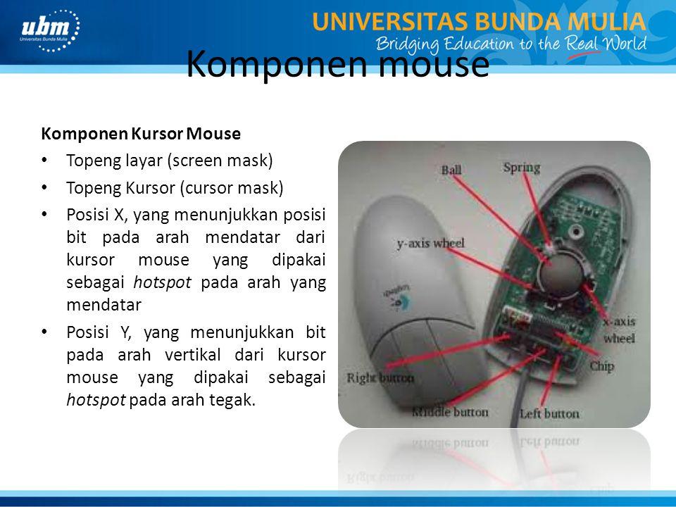 Komponen mouse Komponen Kursor Mouse Topeng layar (screen mask)