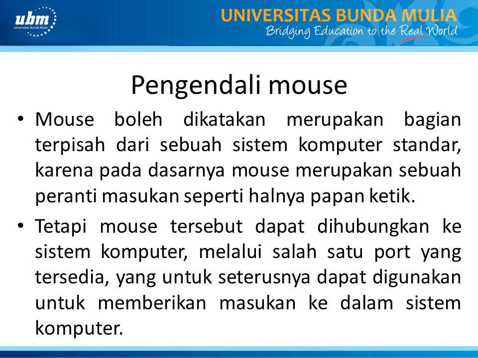 Pengendali mouse