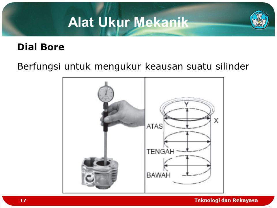 Alat Ukur Mekanik Dial Bore