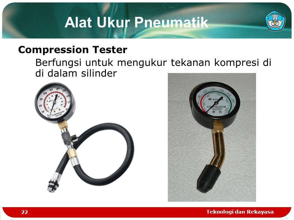 Alat Ukur Pneumatik Compression Tester