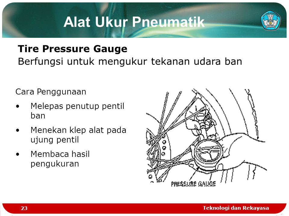 Alat Ukur Pneumatik Tire Pressure Gauge