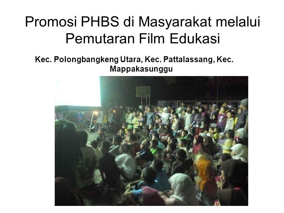 Promosi PHBS di Masyarakat melalui Pemutaran Film Edukasi