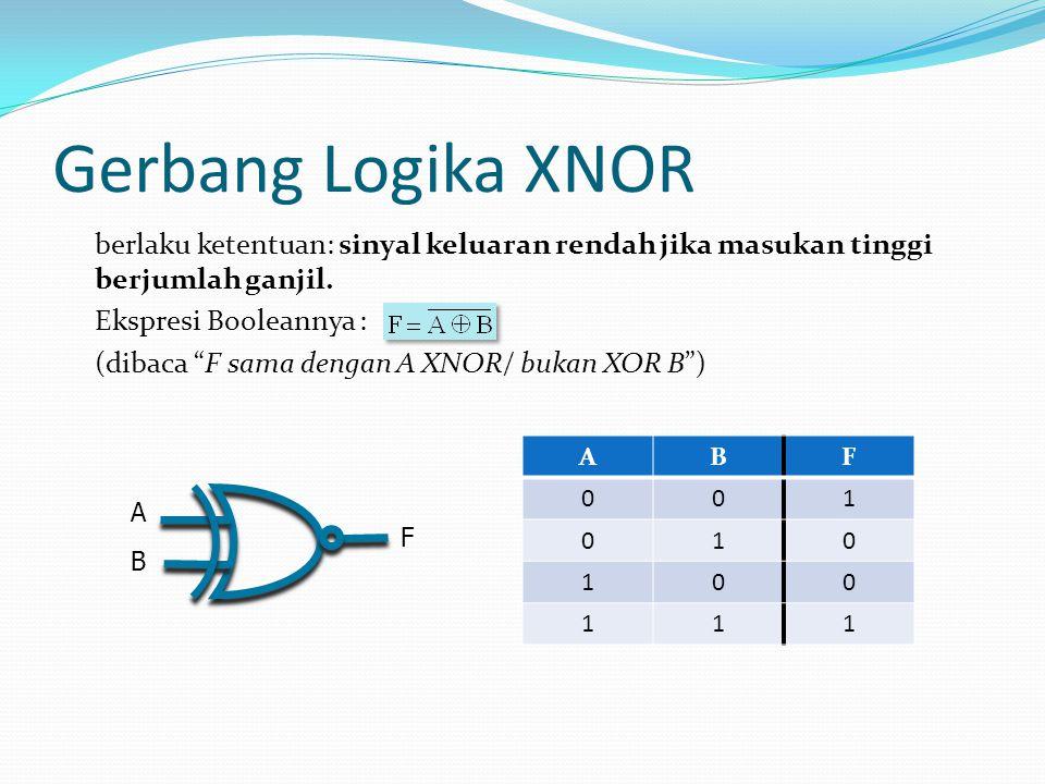 Gerbang Logika XNOR