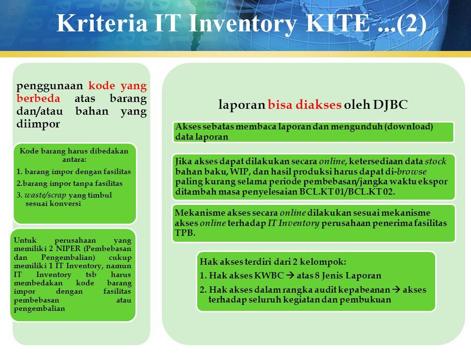 Kriteria IT Inventory KITE ...(2)