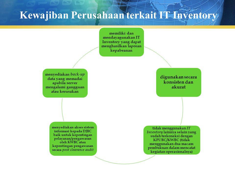 Kewajiban Perusahaan terkait IT Inventory