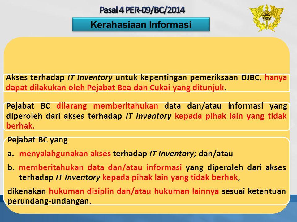 Kerahasiaan Informasi