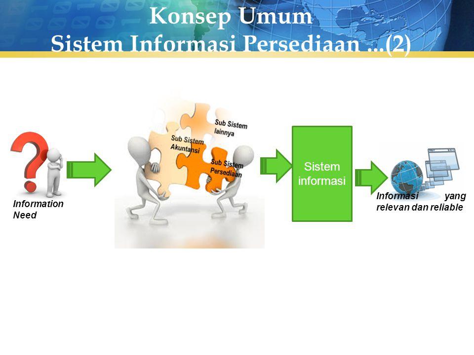 Konsep Umum Sistem Informasi Persediaan ...(2)