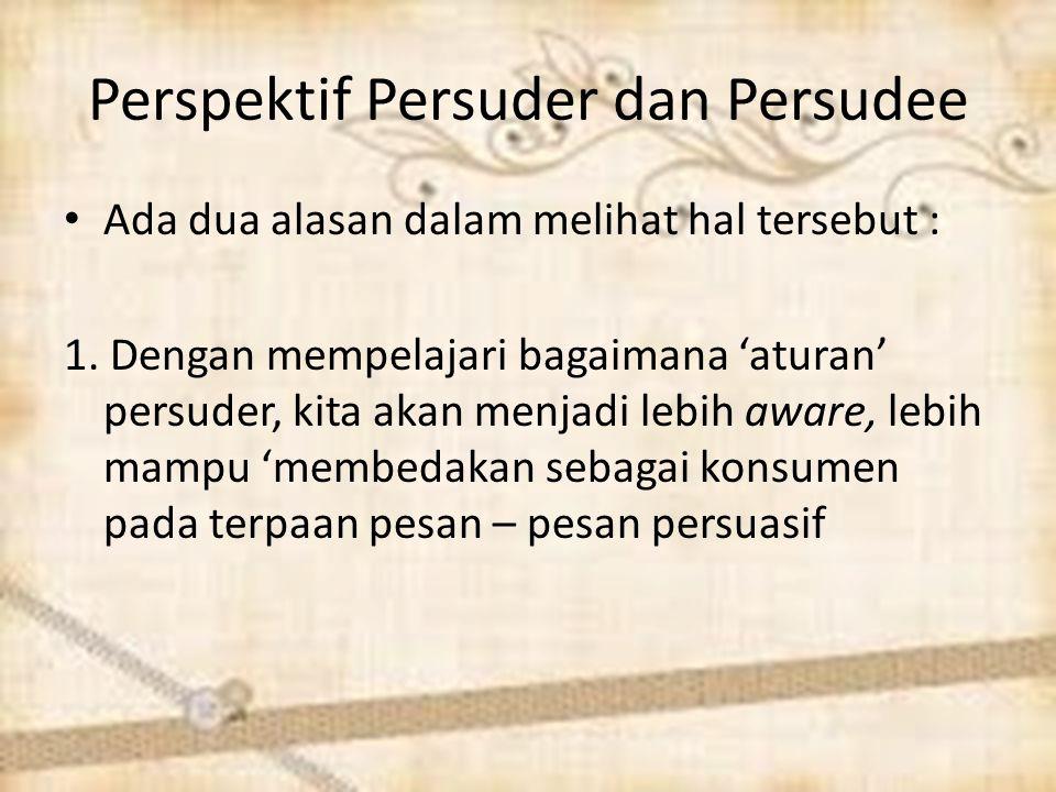 Perspektif Persuder dan Persudee