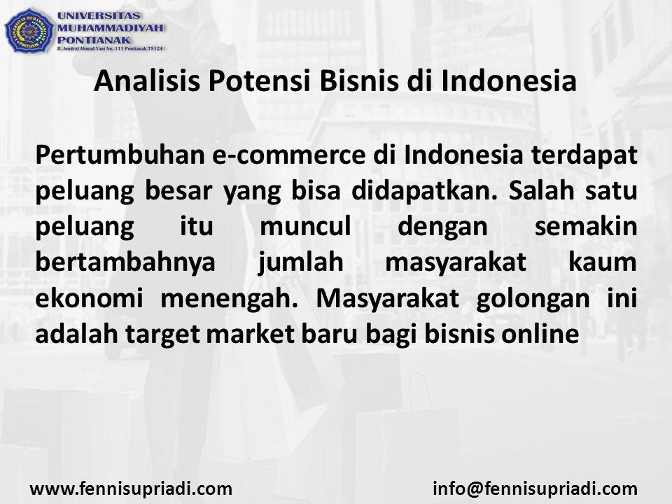 Analisis Potensi Bisnis di Indonesia
