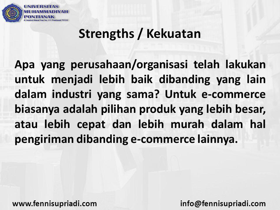 Strengths / Kekuatan