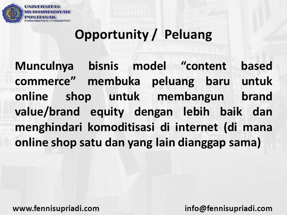 Opportunity / Peluang