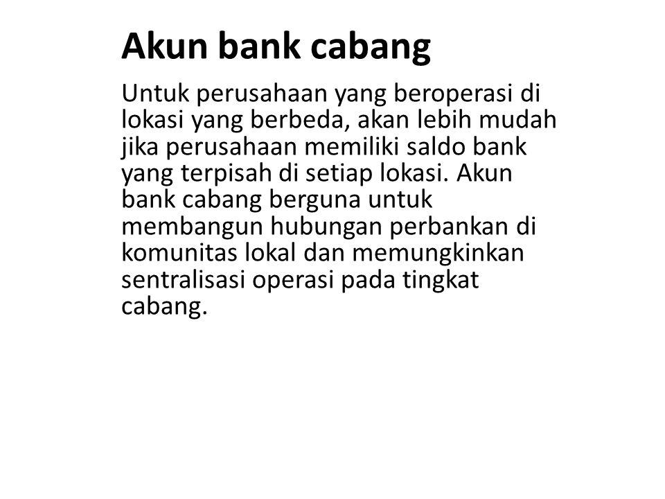 Akun bank cabang