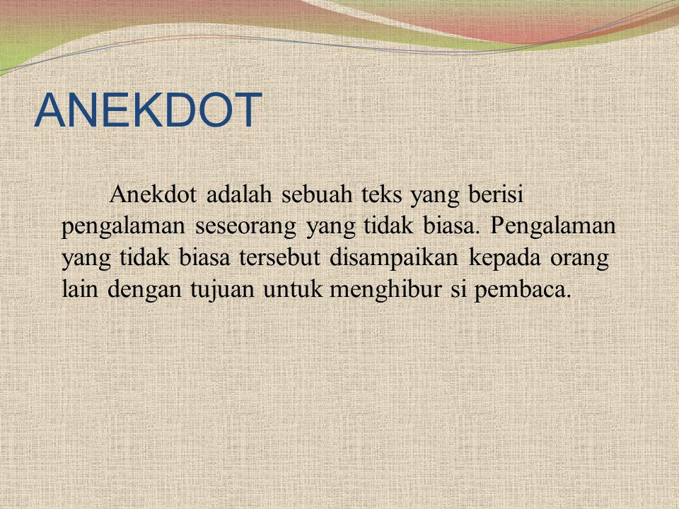 ANEKDOT