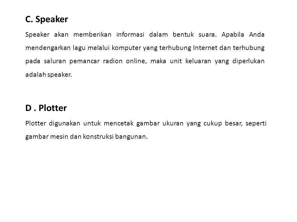 C. Speaker