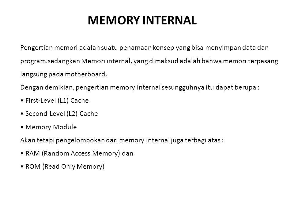 MEMORY INTERNAL