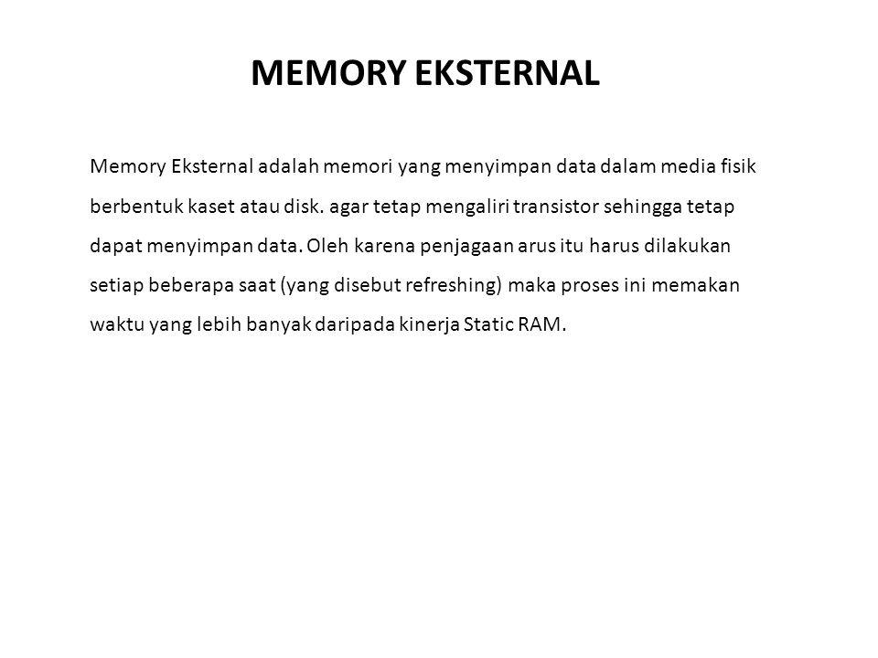 MEMORY EKSTERNAL