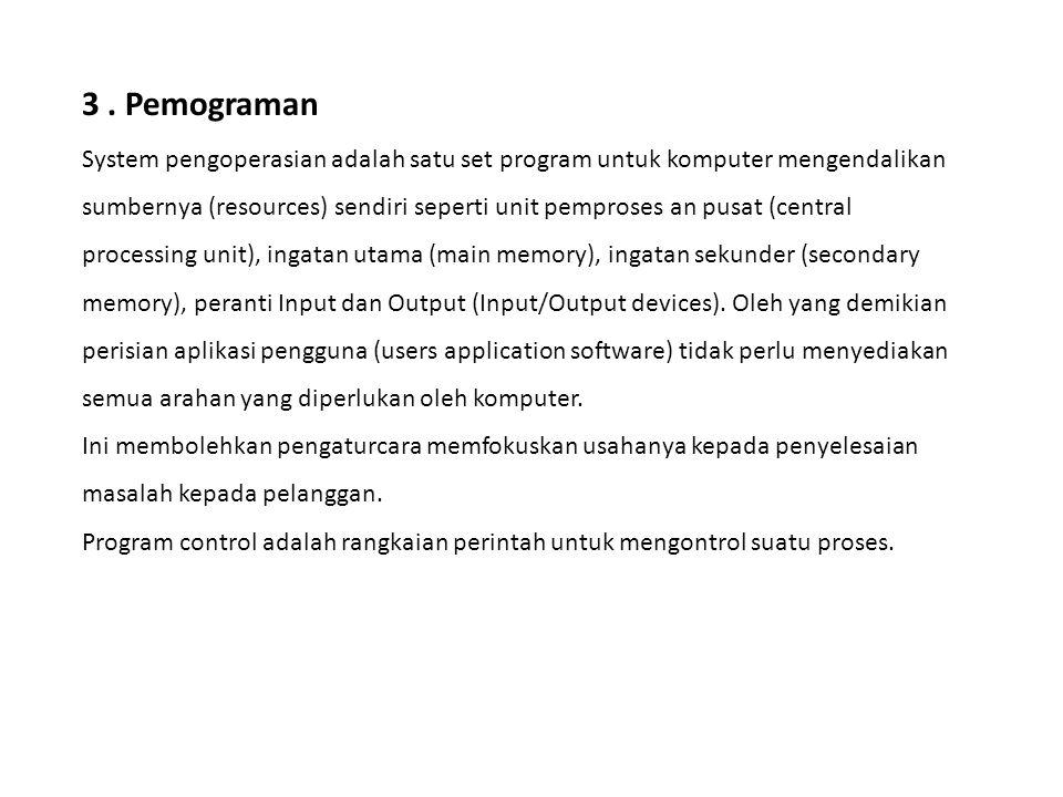 3 . Pemograman