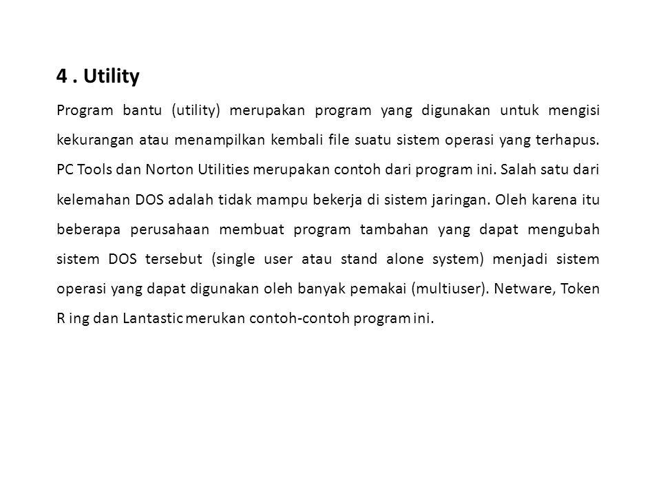 4 . Utility
