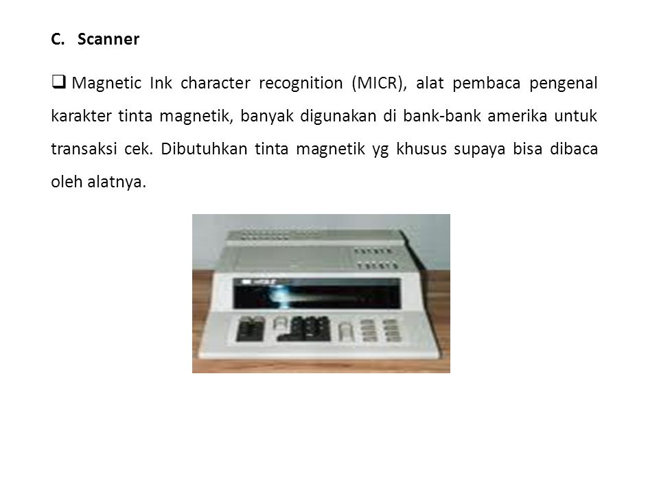 C. Scanner